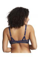 Royce Zahra 1404 Bra Blue & Nude
