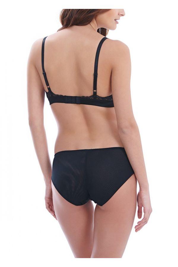Wacoal Lace Affair 852256 Bralette Black & Graphite