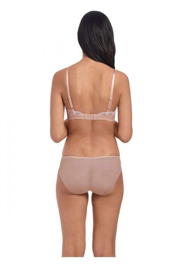 Wacoal Lace Affair Brief 846256 Rose Dust & Angel Wing